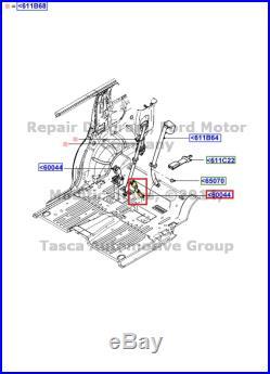 New Oem Lh 2nd Row Seat Belt Buckle Ford Explorer Sport Mercury Mountaineer