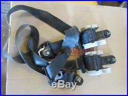 Nissan/Datsun 720 Pickup Truck Seat Belts Black Belt Buckle OEM Left Right Side