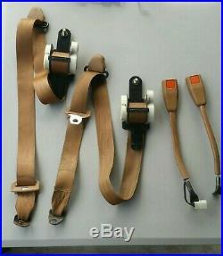 Nissan/Datsun 720 Pickup Truck Seat Belts Brown Belt Buckle OEM Left Right Side