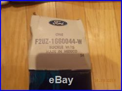 Nos 1992 Ford E150 E250 E350 Seat Belt & Buckle For 3 Passenger Bed Seat Rh