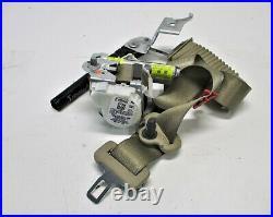 OEM 2018-2020 Ford F-150 Outer Front Passenger Seat Belt Buckle Pretensioner Tan