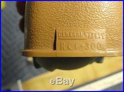OEM 66 Cadillac DeVille RIGHT SEAT BELT BUCKLE RECEIVER & RETRACTOR CREST EMBLEM