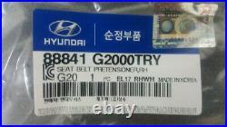 OEM 88841-G2000TRY FR/RH Seat Belt Buckle Tensioner for Hyundai IONIQ 20172020
