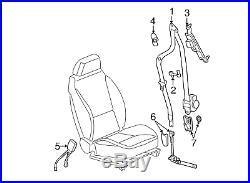 OEM GM Front Driver Side Seat Belt Buckle 10-12 Chevrolet Malibu 19208288
