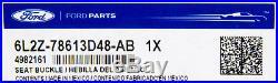 OEM NEW 06-10 Ford Explorer Rear Seat Belt Buckle Assembly Camel Interior