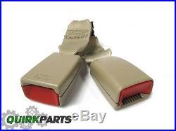OEM NEW Rear Left 2nd Row Seat Belt Buckle End 07-14 GMC Chevrolet 19121591