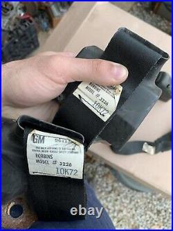 Original Misc 1972-1974 Camaro Firebird Trans Am Seat Belts Exploding Buckles