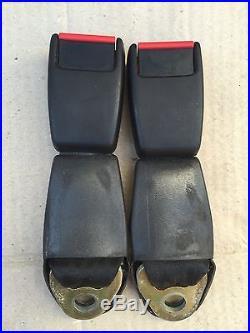 PORSCHE 911 924 930 944 964 968 TURBO REAR SEAT BELT BUCKLE SET