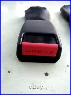 PORSCHE 911 964 993 944 TURBO REAR SEAT BELT & BUCKLE SET Excellent Condition