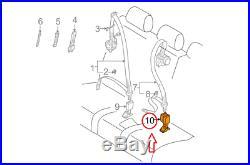 PORSCHE CAYENNE 9PA Rear Seat Belt Buckle 95580305410HCP NEW GENUINE