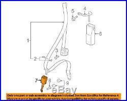 PORSCHE OEM 08-13 911 Front Seat Belt-Buckle Left 99780318311