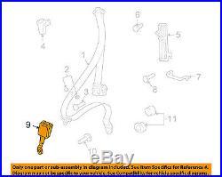 PORSCHE OEM 10-12 911 Front Seat Belt-Buckle 997803993086J0