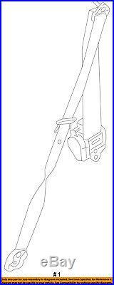 PORSCHE OEM 12-16 911 Front Seat-Belt & Buckle Retractor Left 99180303303N13