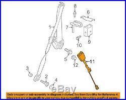 PORSCHE OEM 13-16 911 Front Seat Belt-Buckle Right 99180318407