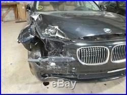 Passenger Front Seat Belt Buckle 09-12 BMW 750i F01 F02 Black 9115306 OEM