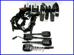 Polaris RZR Razor XP 4 1000 Turbo OEM 3 PT Front Rear Seat Belt Retractor Buckle