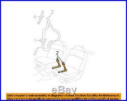Pontiac GM OEM 06-08 Grand Prix Front Seat Belt-Buckle End Right 19148910