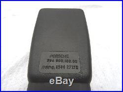 Porsche 911 928 89-98 Seat Belt Buckle Receptor Genuine 9648031830070B