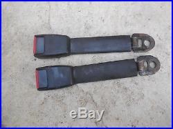 Porsche 911 /928 /944 Front Seat Belt Buckle receptacles Set#1 928 803 183 05