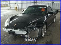 Porsche 911 BELT BUCKLE airbag child seat cutoff switch