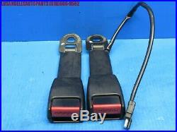 Porsche 928 911 944 Front Left & Right Seat Belt Buckle Pair 92880318308 & (09)