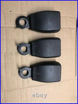 RANGE ROVER P38 Set Of 3 Rear Seat Belt Buckle Buckles 94 To 02