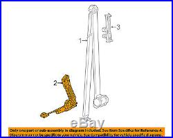 Ram CHRYSLER OEM 2014 ProMaster 3500 Front Seat Belt-Buckle Left 1ZS81JXWAA