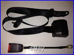 SEAT BELT- UNIVERSAL PAIR 3 POINT RETRACTABLE + LAP BELT & BUCKLE 2+1x2=6 belts
