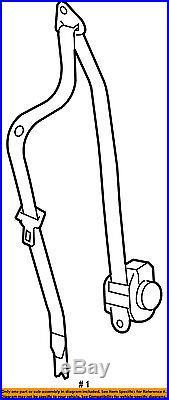 Saturn GM OEM 07-08 Aura Front Seat Belt-Buckle Retractor Right 19152174