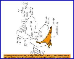 Scion TOYOTA OEM 04-06 xB Front Seat-Belt & Buckle Retractor Left 7322052440C0