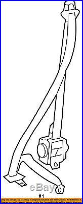 Scion TOYOTA OEM 14-16 tC Front Seat-Belt & Buckle Retractor Right 7321021150B0