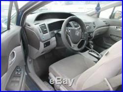 Seat Belt Front Bucket Seat Sedan Driver Buckle Fits 12-15 CIVIC 725065