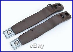 Seat Belt Front Latch Buckle Receiver Bucket Console Floor Shifter Hurst Olds 78