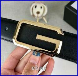 Seat Belt Gucci Genuine Leather