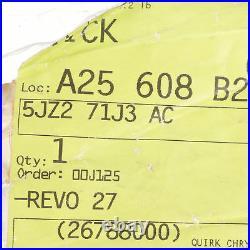 Seat Belt Rear Inner Buckle End Left 06-09 Durango 07-09 Aspen Mopar 5jz271j3ac