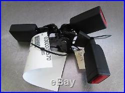 Set of 3 Rear Seat Belt Buckle Black OEM Mercedes GLA 250 45 AMG X156 2015-16