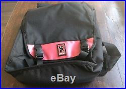 So-cool! Chrome Industries Classic Messenger Laptop Bag Seat Belt Buckle