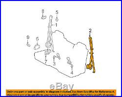 TOYOTA OEM 00-04 Tundra Front Seat Belt Buckle-Retractor Assy Left 732200C011E2