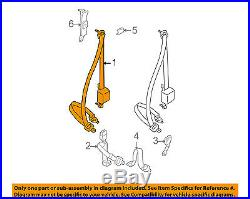 TOYOTA OEM 01-03 Tacoma Front Seat-Belt & Buckle Retractor Right 7321004130B0