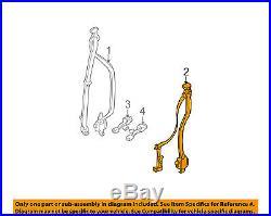TOYOTA OEM 01-04 Tacoma Rear Seat Belt-Belt & Buckle Retractor Left 7337004020B0