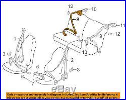 TOYOTA OEM 02-05 Celica Rear Seat Belt-Buckle Retractor Assembly 7336020821C1