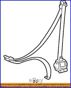 TOYOTA OEM 03-04 Tundra Front Seat Belt Buckle-Retractor Assy Left 732200C021B4