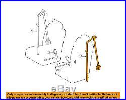 TOYOTA OEM 04-08 Solara Front Seat-Belt & Buckle Retractor Left 73220AA030B0