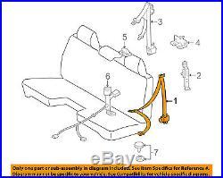 TOYOTA OEM 05-11 Tacoma Front Seat-Belt & Buckle Retractor Left 7322004181B0