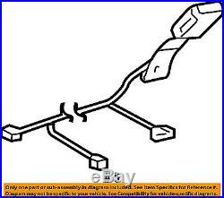 TOYOTA OEM 05-15 Tacoma Front Seat Belt-Buckle Left 73240AD011B0