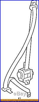 TOYOTA OEM 07-08 Yaris Front Seat-Belt & Buckle Retractor Right 7321052620C0