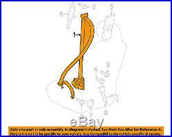 TOYOTA OEM 07-09 FJ Cruiser Front Seat-Belt & Buckle Retractor Left 7322035740C0