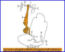 TOYOTA OEM 10-13 Prius Front Seat-Belt & Buckle Retractor Left 7322047092B1