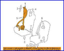 TOYOTA OEM 10-13 Tundra Front Seat Belt Buckle-Retractor Assy Left 732200C120B0