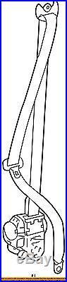 TOYOTA OEM 10-16 4Runner Front Seat-Belt & Buckle Retractor Left 7322035840A0
